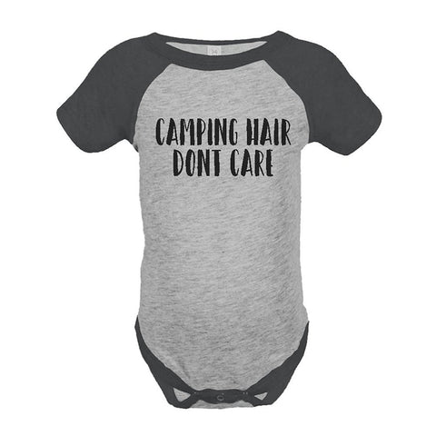 Custom Party Shop Unisex Camping Hair Outdoors Raglan Onepiece