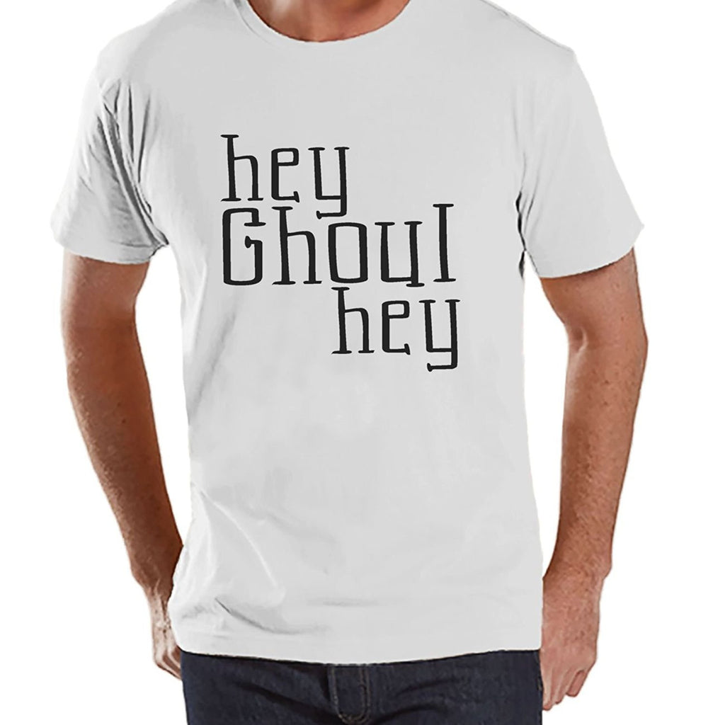 7 ate 9 Apparel Men's Hey Ghoul Hey Halloween T-shirt