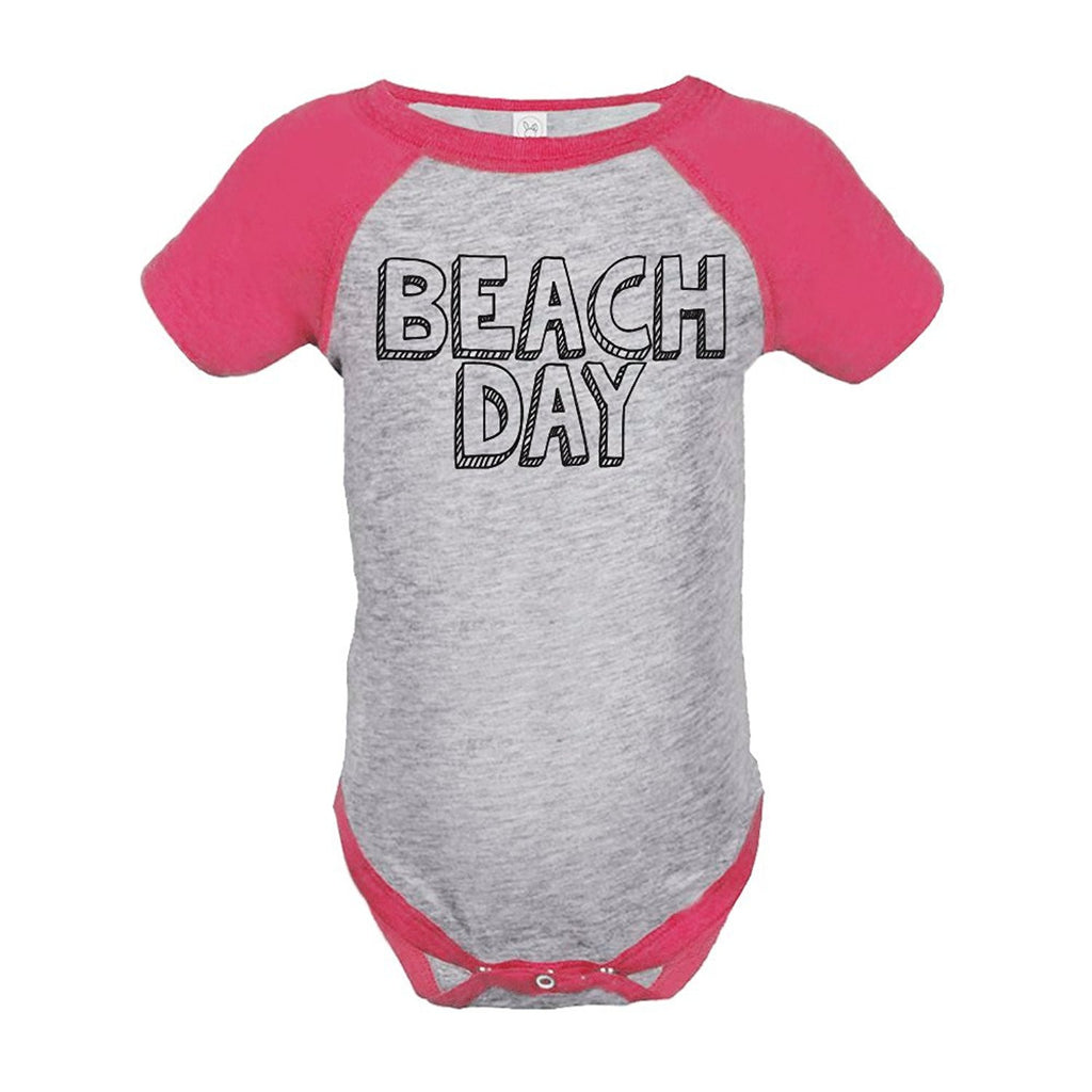 7 ate 9 Apparel Beach Day Summer Raglan Onepiece