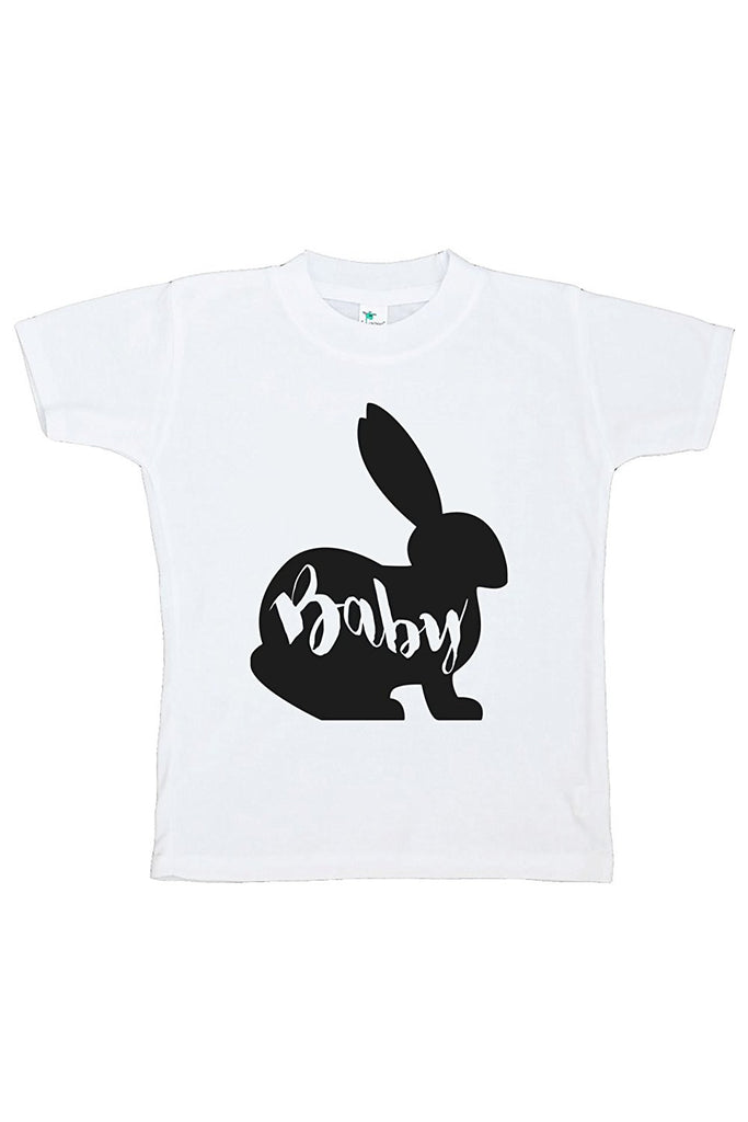 7 ate 9 Apparel Baby's Baby Bunny Happy Easter T-shirt
