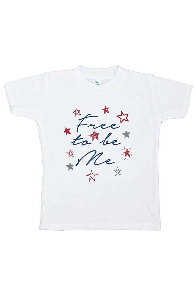 7 ate 9 Apparel Kids Free to be Me 4th of July T-shirt
