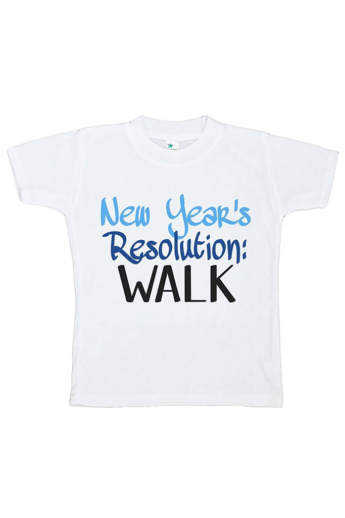 7 ate 9 Apparel Kids New Years Resolution T-shirt