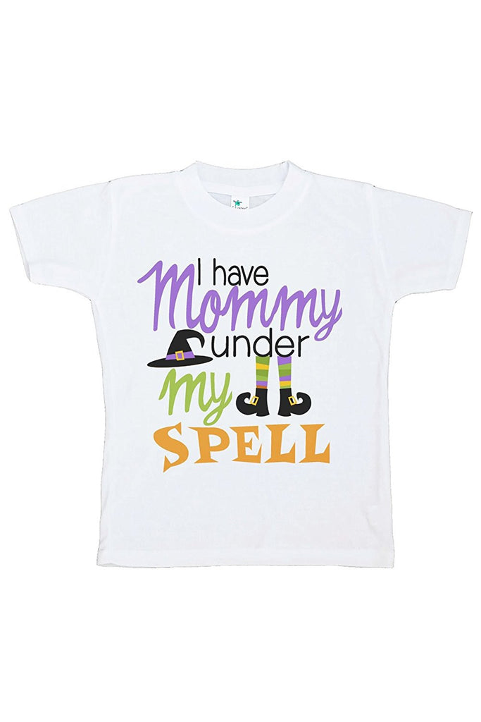 7 ate 9 Apparel Kids Mommy's Under My Spell Halloween Tshirt