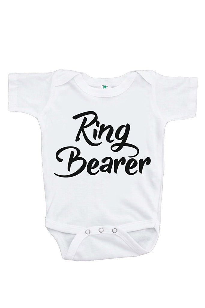 7 ate 9 Apparel Baby Boy's Ring Bearer Wedding Onepiece