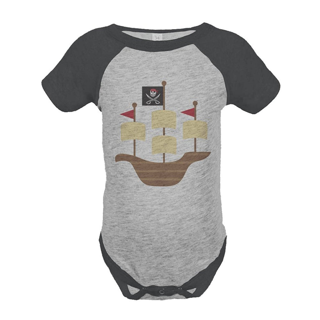 7 ate 9 Apparel Boy's Pirate Onepiece