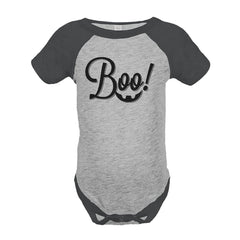 7 ate 9 Apparel Baby's Boo Halloween Onepiece