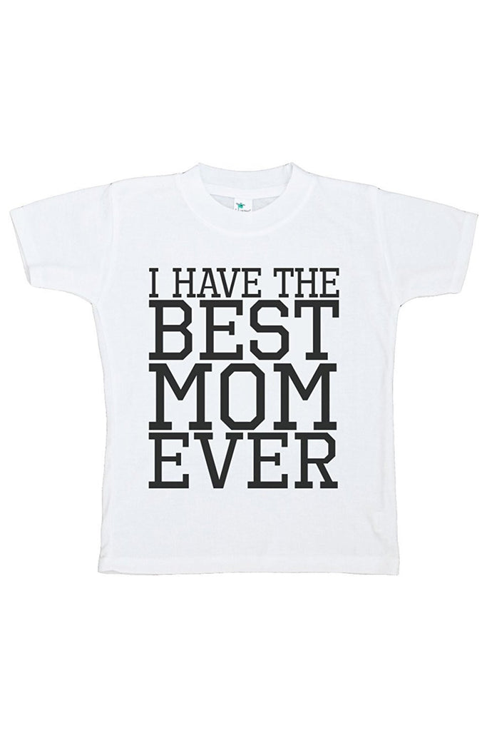 7 ate 9 Apparel Baby Boy's Novelty Best Mom Ever