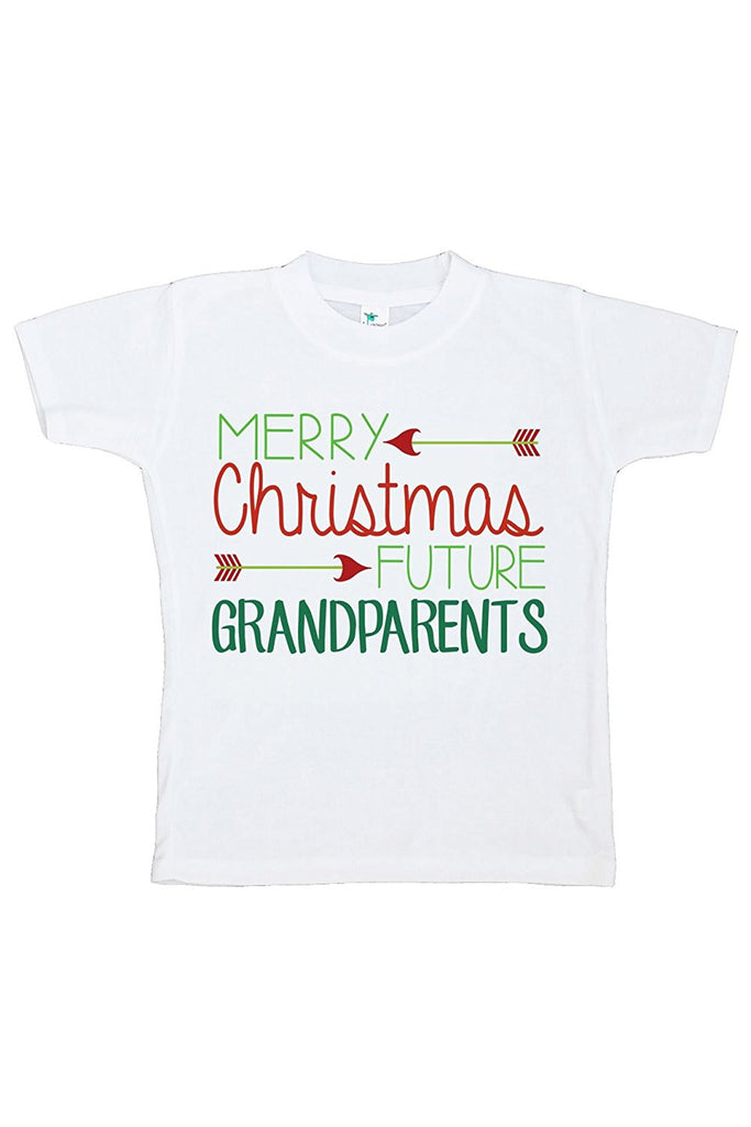 7 ate 9 Apparel Youth Future Grandparents Christmas T-shirt