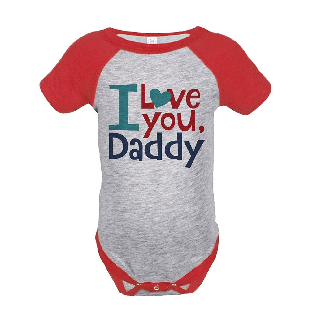 7 ate 9 Apparel Boy's 1st Father's Day Onepiece
