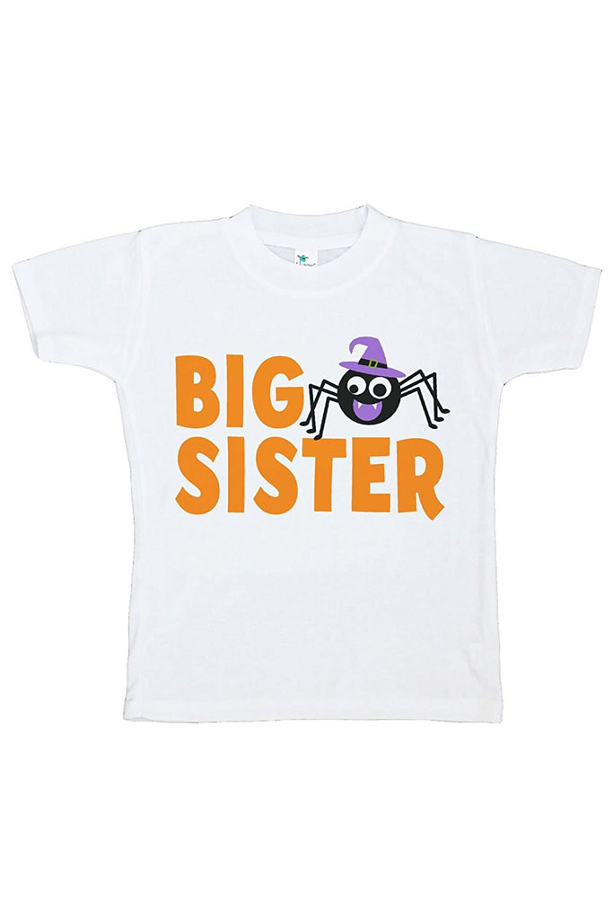 7 ate 9 Apparel Kids Big Sister Halloween Tshirt