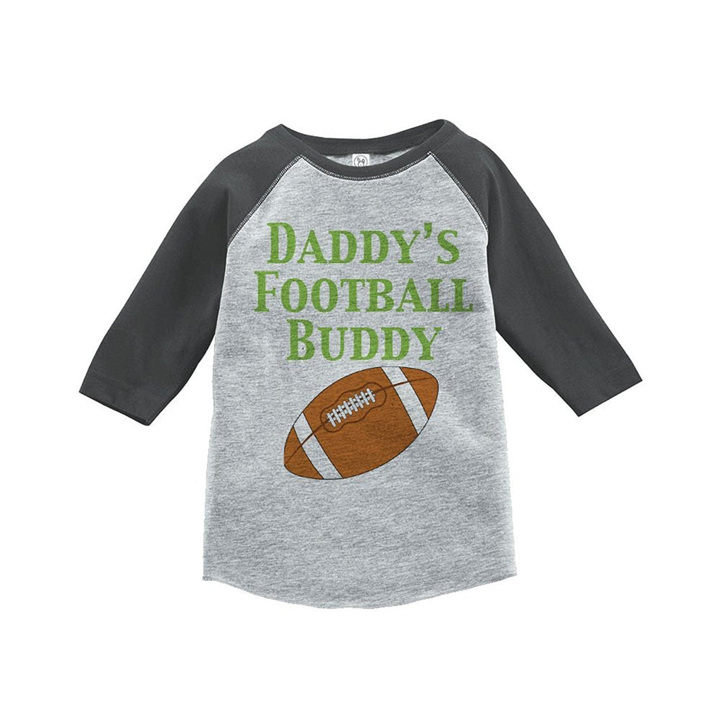 7 ate 9 Apparel Boy's Novelty Football Vintage Baseball Tee