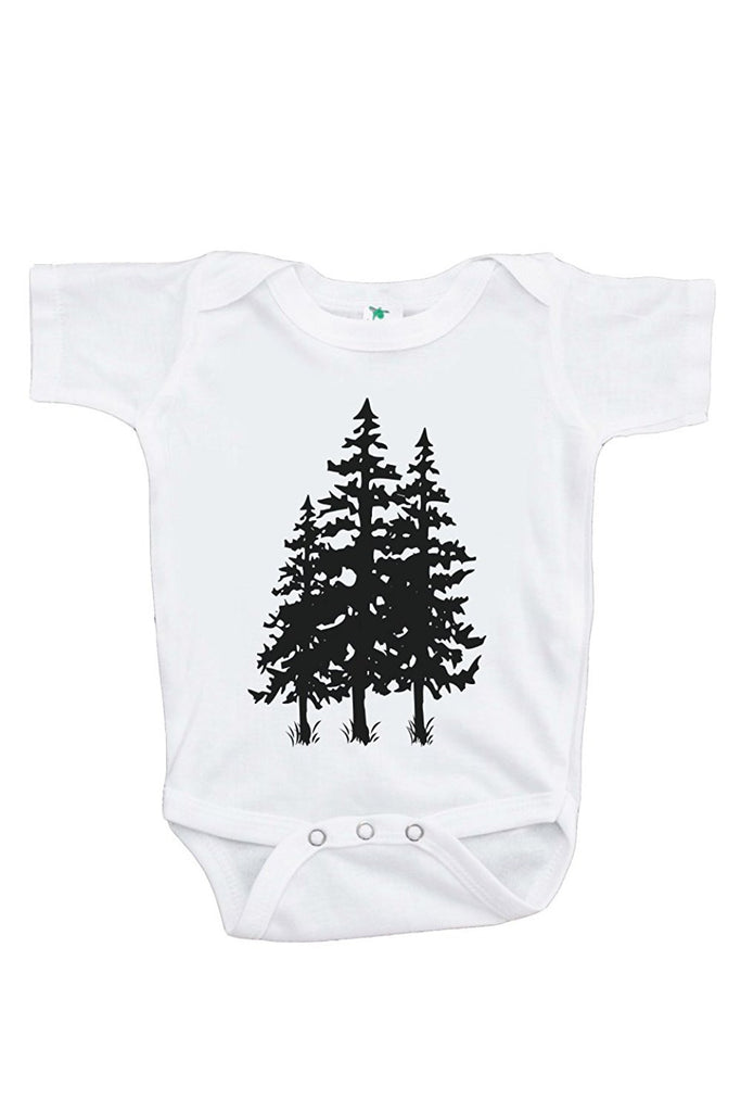 7 ate 9 Apparel Baby's Trees Outdoors Onepiece