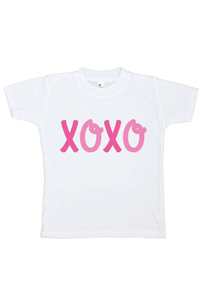 7 ate 9 Apparel Kids XOXO Happy Valentine's Day T-shirt