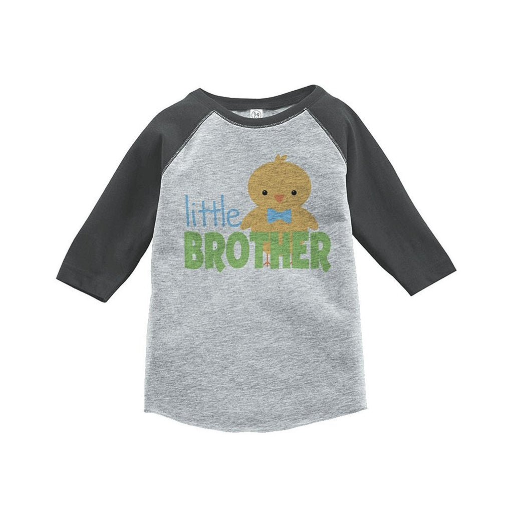 7 ate 9 Apparel Boy's Little Brother Vintage Baseball Tee