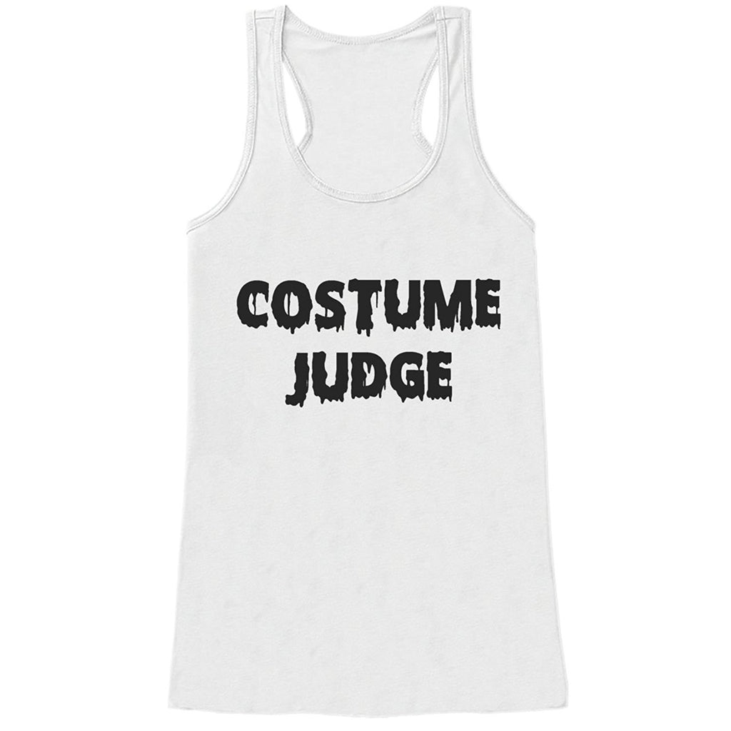7 ate 9 Apparel Womens Costume Judge Halloween Tank Top