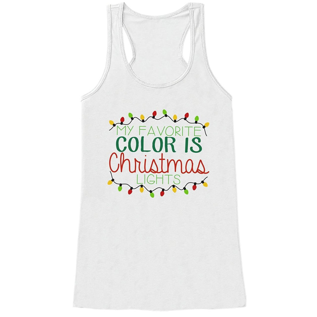 7 ate 9 Apparel Womens Christmas Tank Top