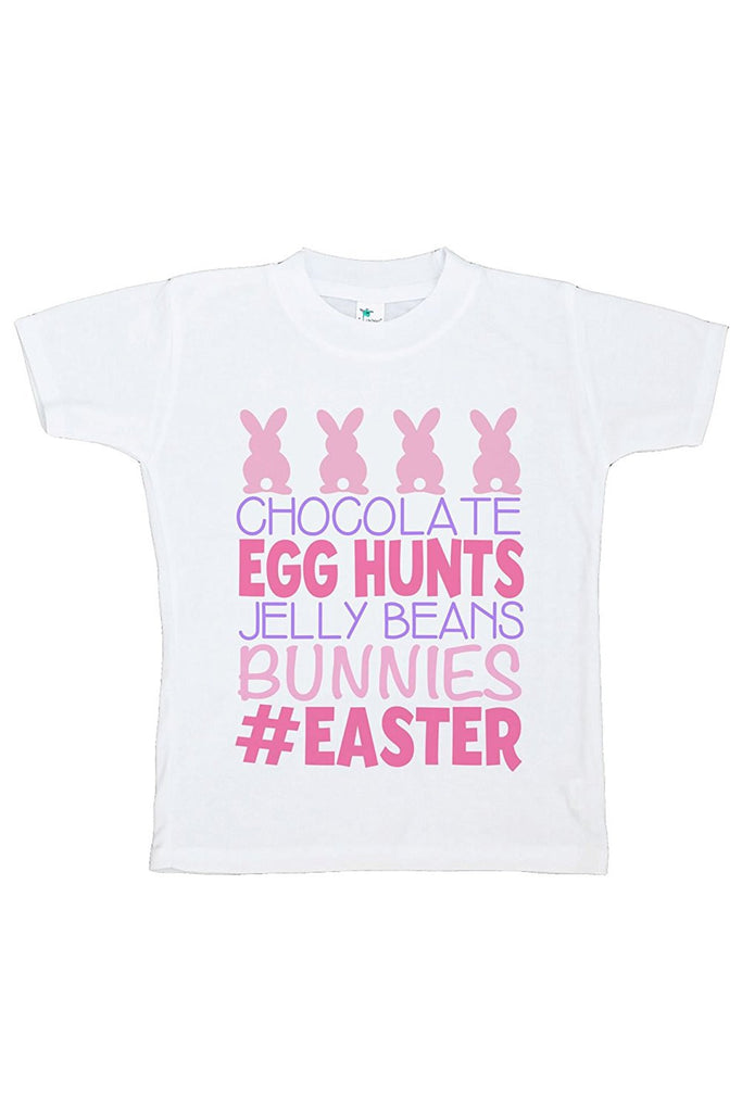 7 ate 9 Apparel Baby Girls #Easter Happy Easter T-shirt