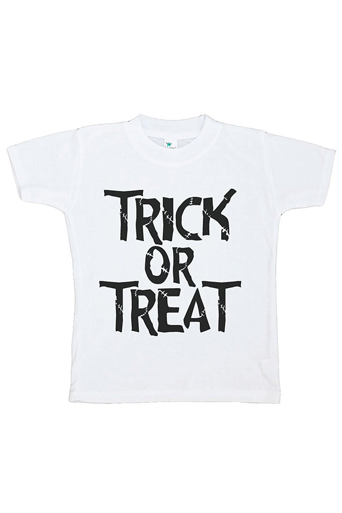 7 ate 9 Apparel Kids Trick or Treat Halloween Tshirt