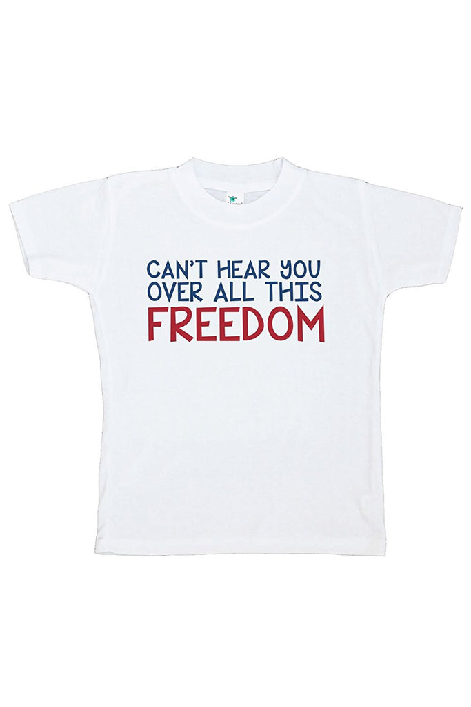 7 ate 9 Apparel Kids Freedom 4th of July T-shirt