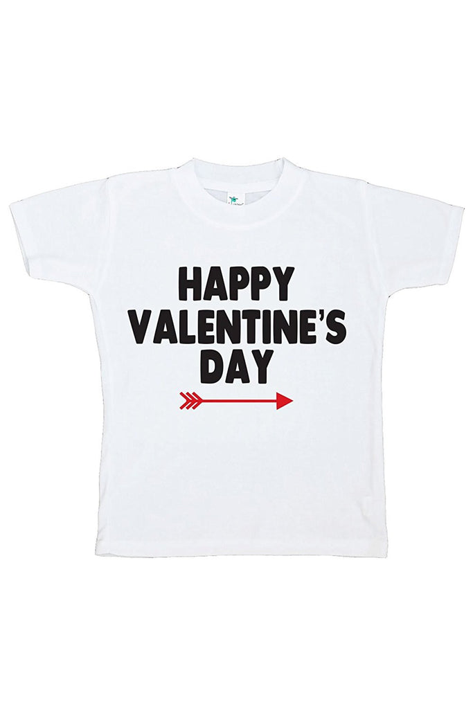 7 ate 9 Apparel Boy's Happy Valentine's Day T-shirt