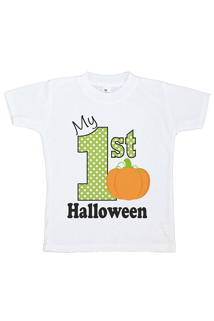 7 ate 9 Apparel Kids My First Halloween Tshirt