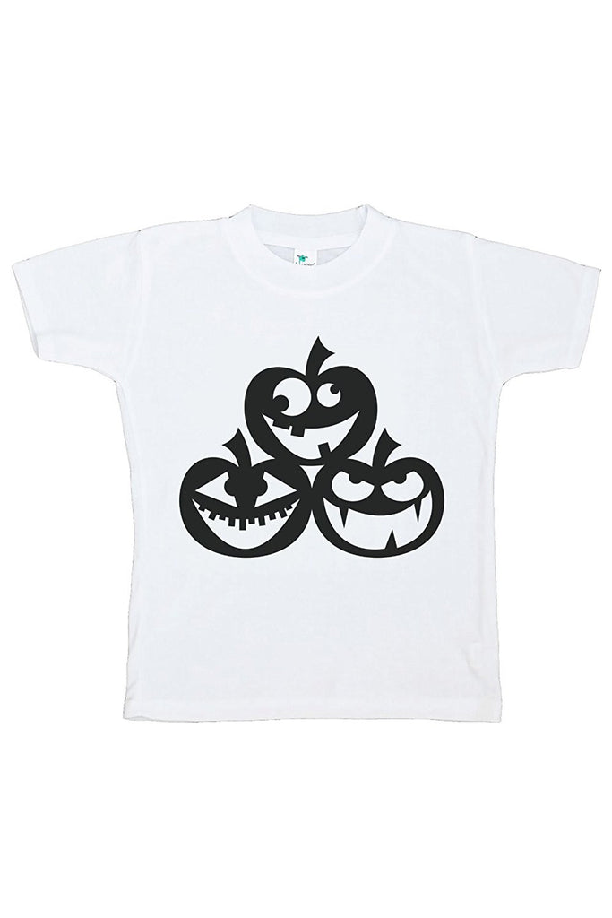 7 ate 9 Apparel Kids Pumpkins Halloween Tshirt