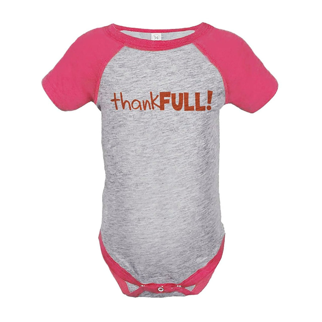 7 ate 9 Apparel Baby's ThankFULL Thanksgiving Onepiece