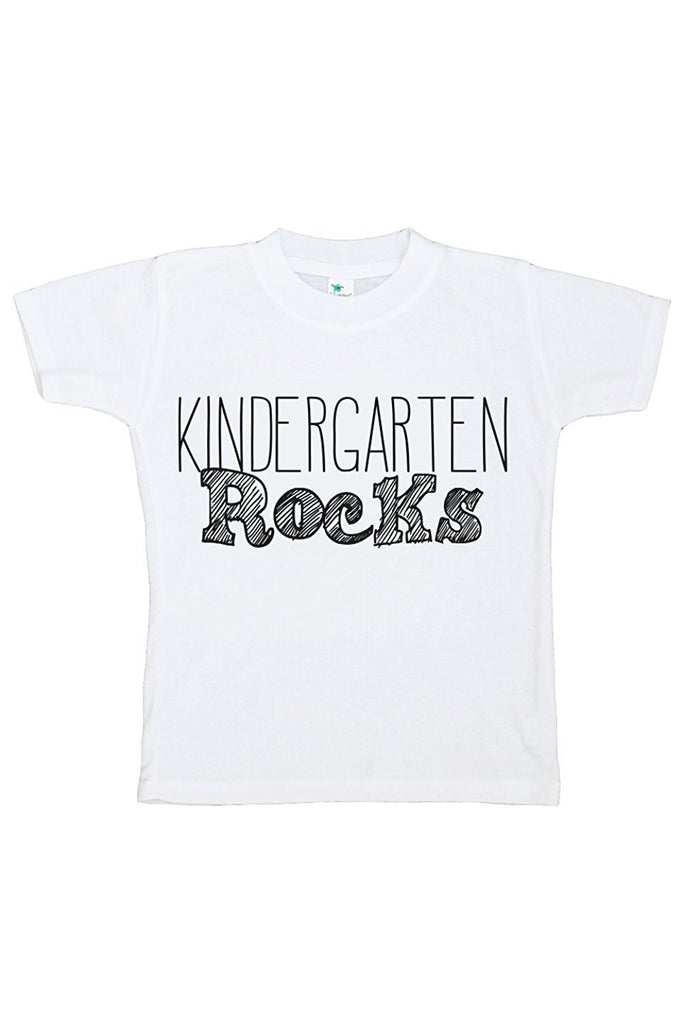 7 ate 9 Apparel Kids Kindergarten Rocks T-shirt