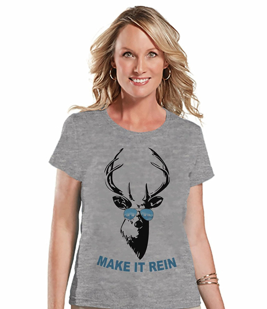 Make It Rein - Women's Grey T-shirt