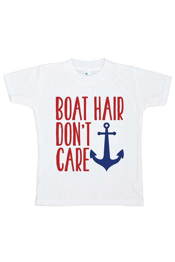 7 Ate 9 Apparel Baby Boy's Boat Hair Summer T-shirt