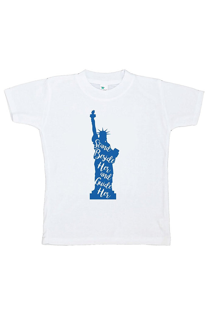 7 ate 9 Apparel Kids Statue of Liberty 4th of July T-shirt