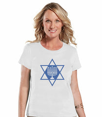 Menorah - Women's White T-shirt