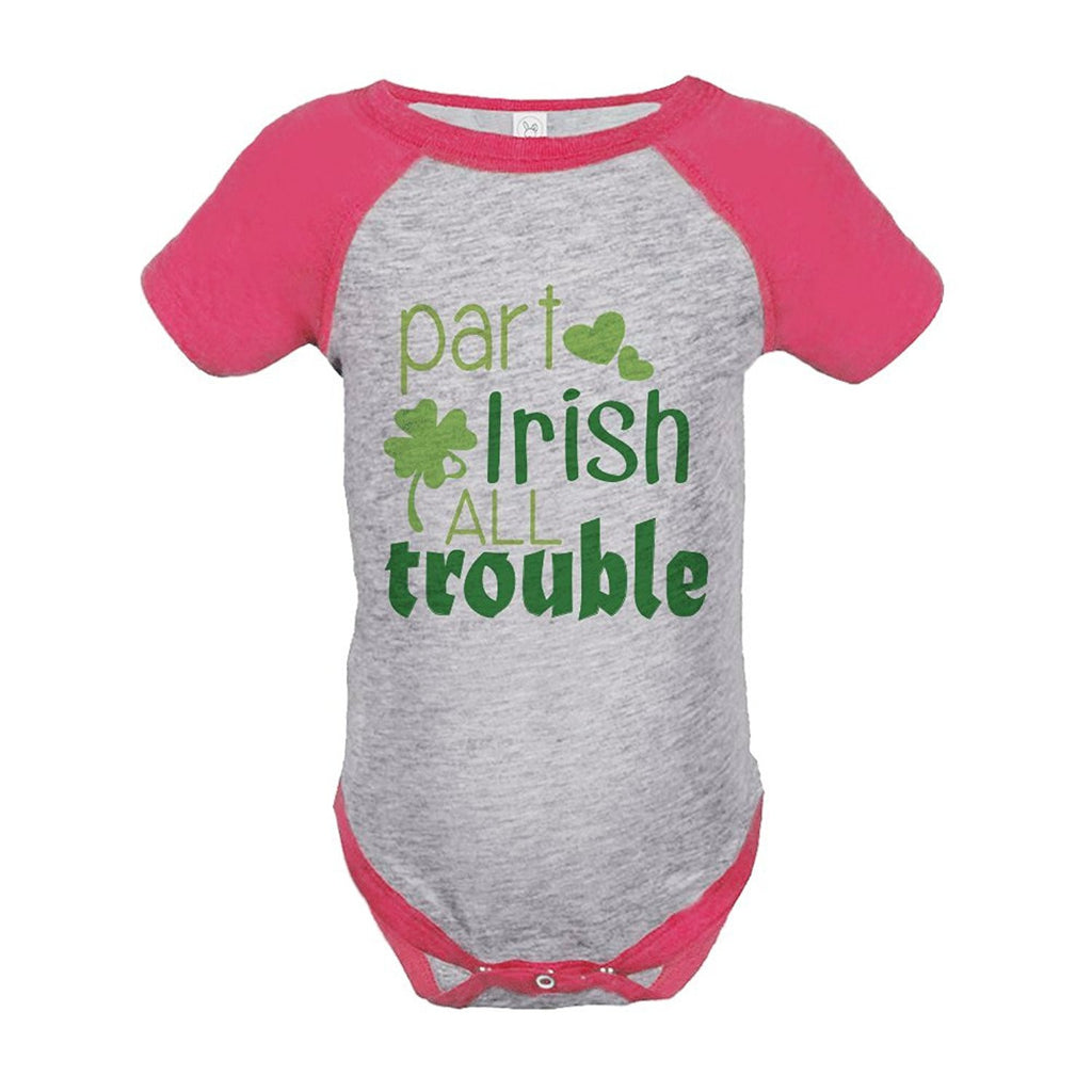 7 ate 9 Apparel Girls' St. Patrick's Day Onepiece
