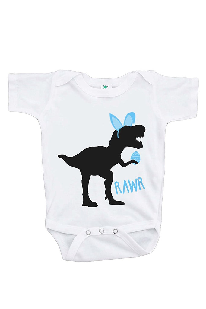 Easter Dinosaur - Baby Boy's Onepiece