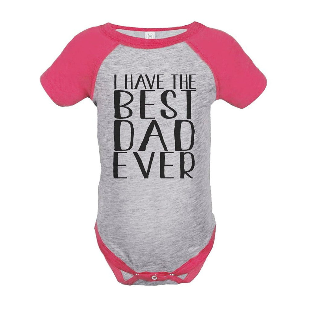 7 ate 9 Apparel Girls' 1st Father's Day Onepiece