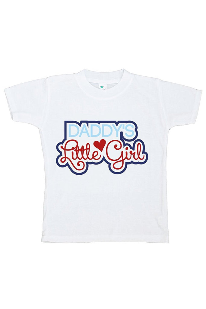 7 ate 9 Apparel Girls' Daddy's Little Girl T-shirt
