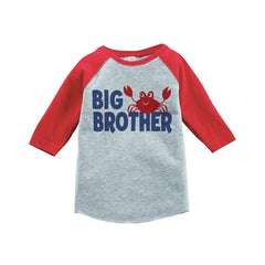 7 ate 9 Apparel Big Brother Summer Raglan Tee
