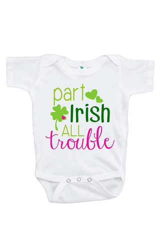Custom Party Shop Baby Girls' Novelty St. Patricks Day Onepiece