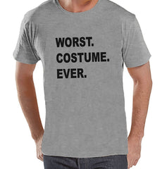 7 ate 9 Apparel Men's Worst Costume Ever Halloween T-shirt