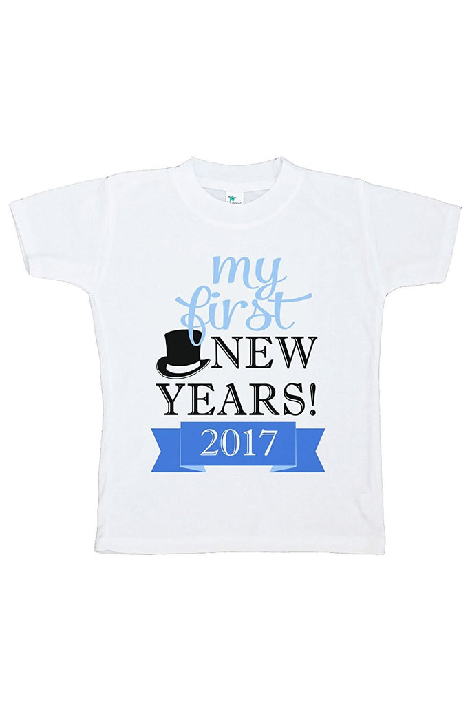 7 ate 9 Apparel Kids First New Year T-shirt