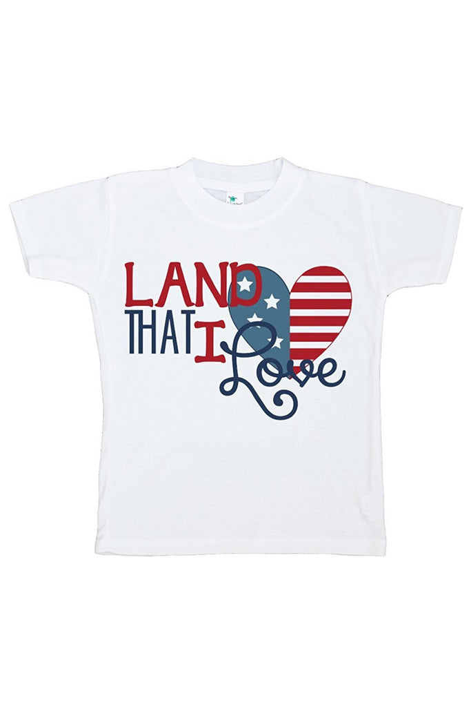 7 ate 9 Apparel Kid's 4th of July T-shirt