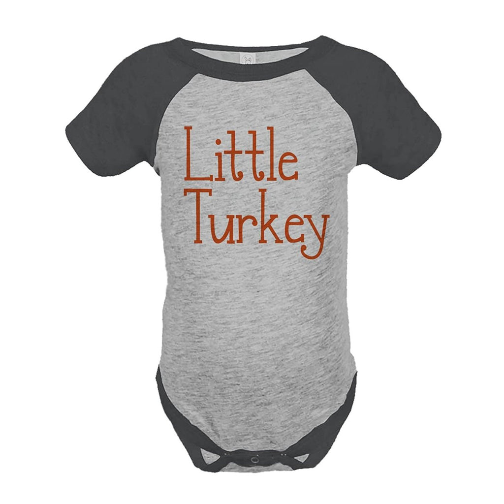 7 ate 9 Apparel Baby's Happy Thanksgiving Onepiece