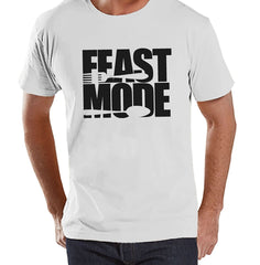 7 ate 9 Apparel Men's Feast Mode Thanksgiving T-Shirt
