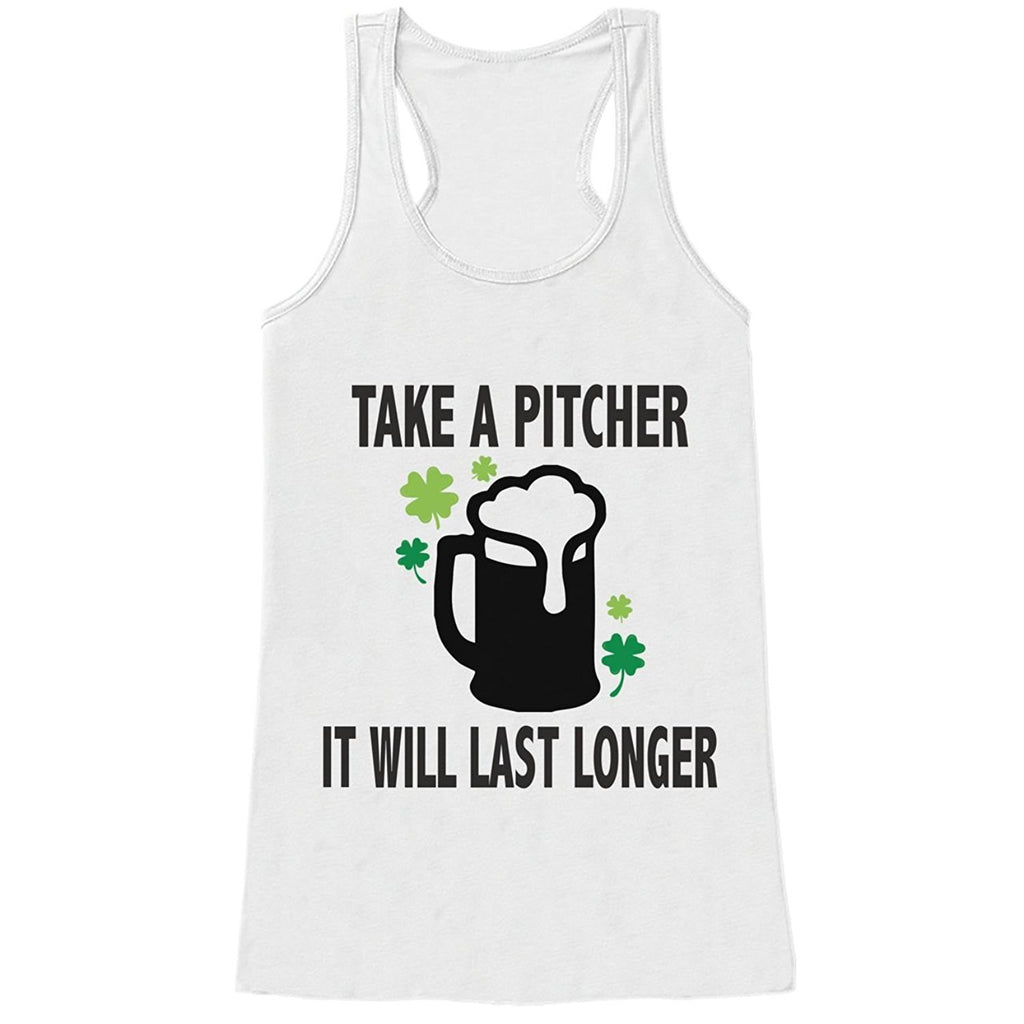 7 ate 9 Apparel Womens Funny St. Patrick's Day Tank Top