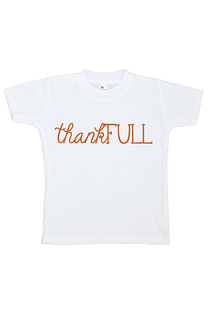 7 ate 9 Apparel Baby's ThankFULL Thanksgiving Tshirt