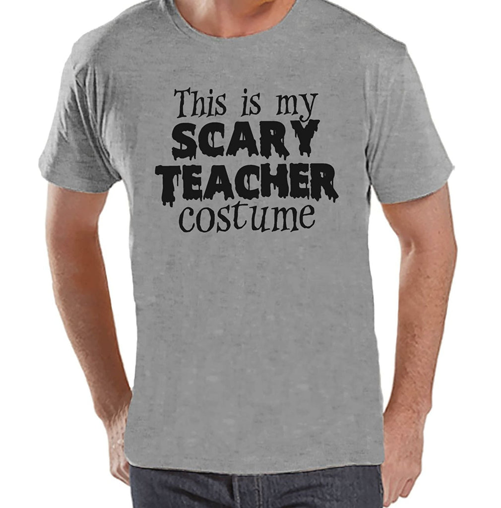 7 ate 9 Apparel Men's Scary Teacher Halloween T-shirt