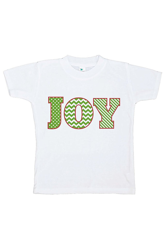 7 ate 9 Apparel Youth Joy Christmas T-shirt