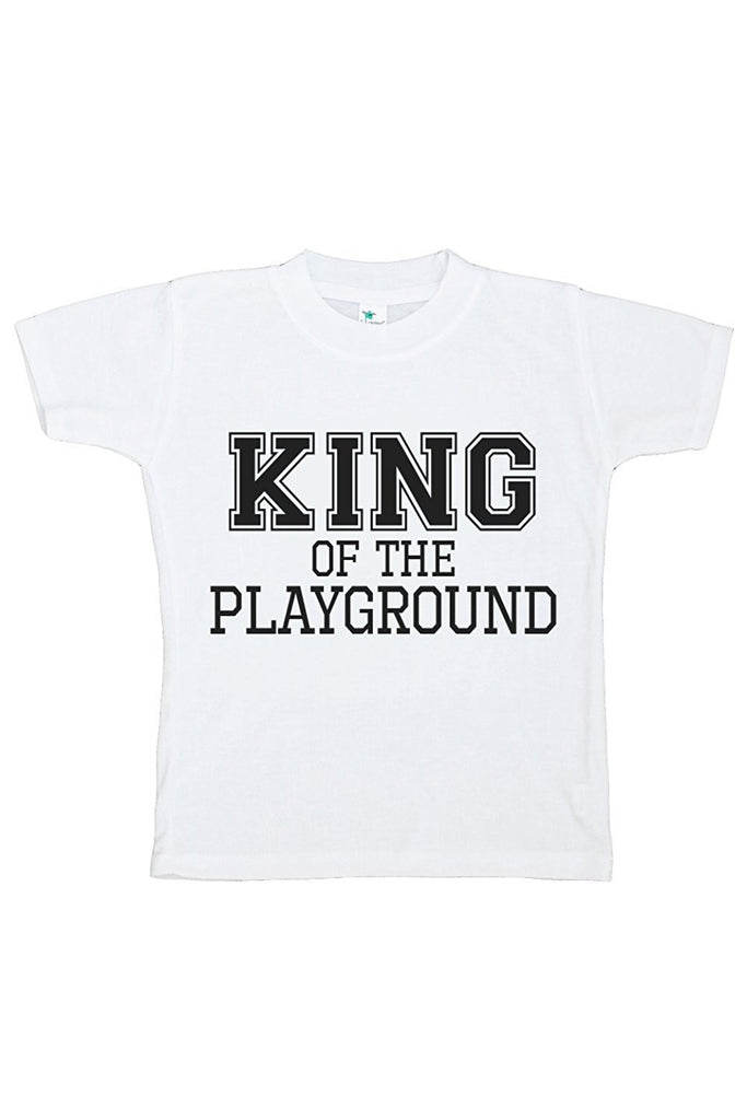 7 ate 9 Apparel Kids King of the Playground T-shirt