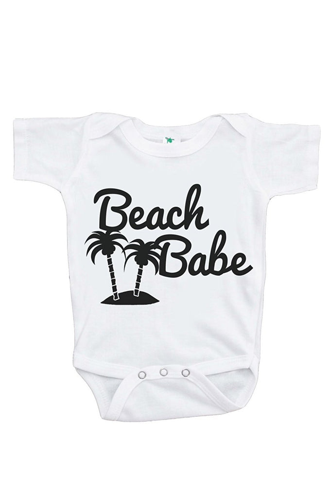 7 ate 9 Apparel Baby's Beach Babe Summer Onepiece