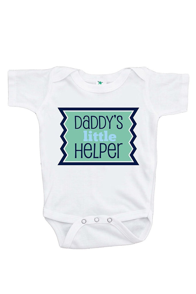 7 ate 9 Apparel Baby Boy's Novelty Father's Day Onepiece